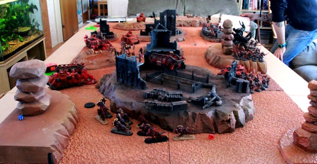 Overview. Finally the Flesh Hounds are moving!
