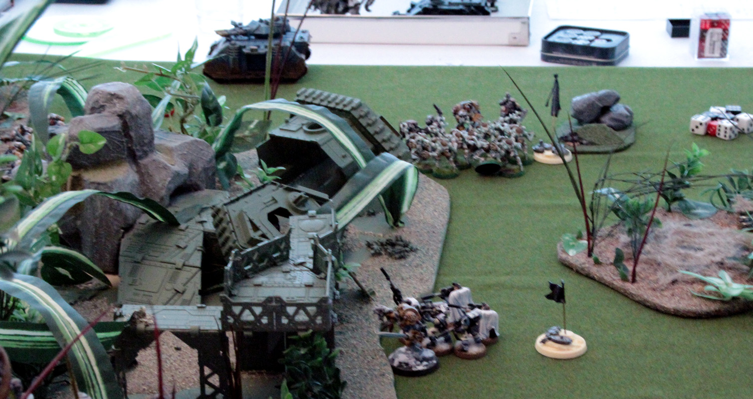Scouts have no good targets so they instead opt to go assist their fellow warriors in the close combat.