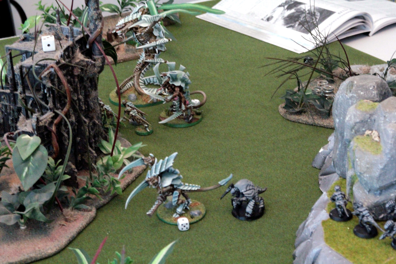 Logan dead. Regroup and head towards objectives.