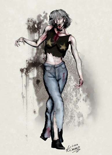 Dance School Instructor Zombie