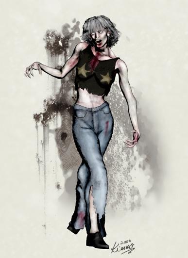 Dance School Instructor Zombie