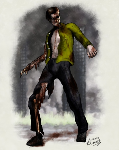 Badly Gnawed Zombie