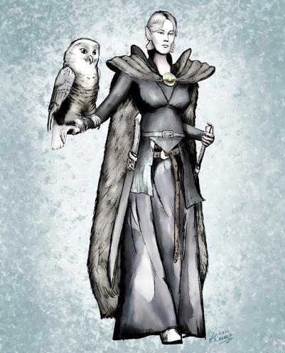 Xseria, an Owl Hunter