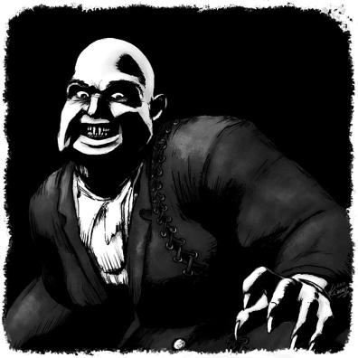 Vampire Illustration