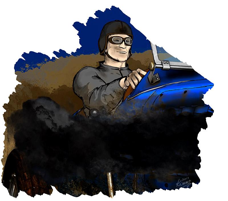Arthur Griffin, Race Driver