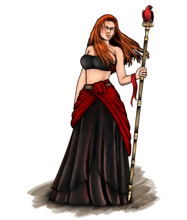 Eleanor, Fire Witch