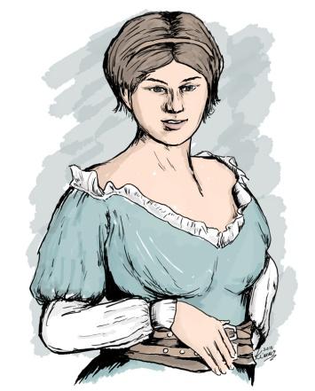 Lilian, Barmaid at the Drunken Wizard Tavern