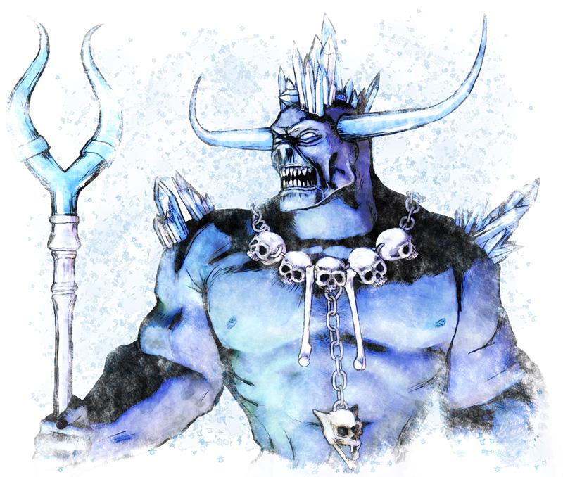 Kaldrog the Ice Demon