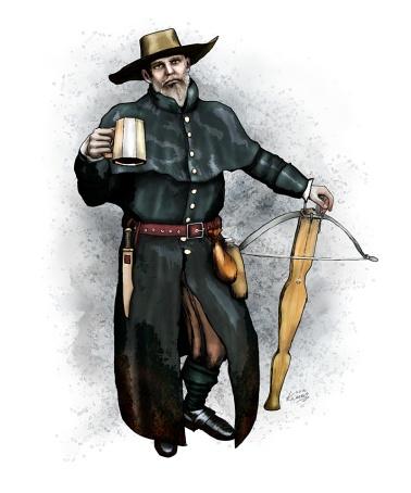 Witch Hunter Benjamin Whitlock
