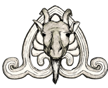 Goat Head Ornament