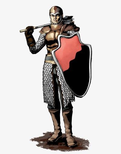 A warrior illustration