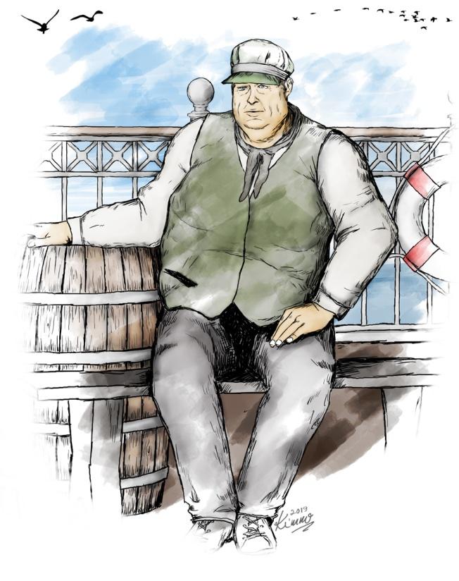 """Michael """"Big Mike"""" Collins, Dockworker"""