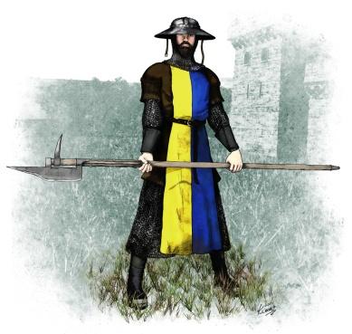 Johan Haulkvil, Castle Guard