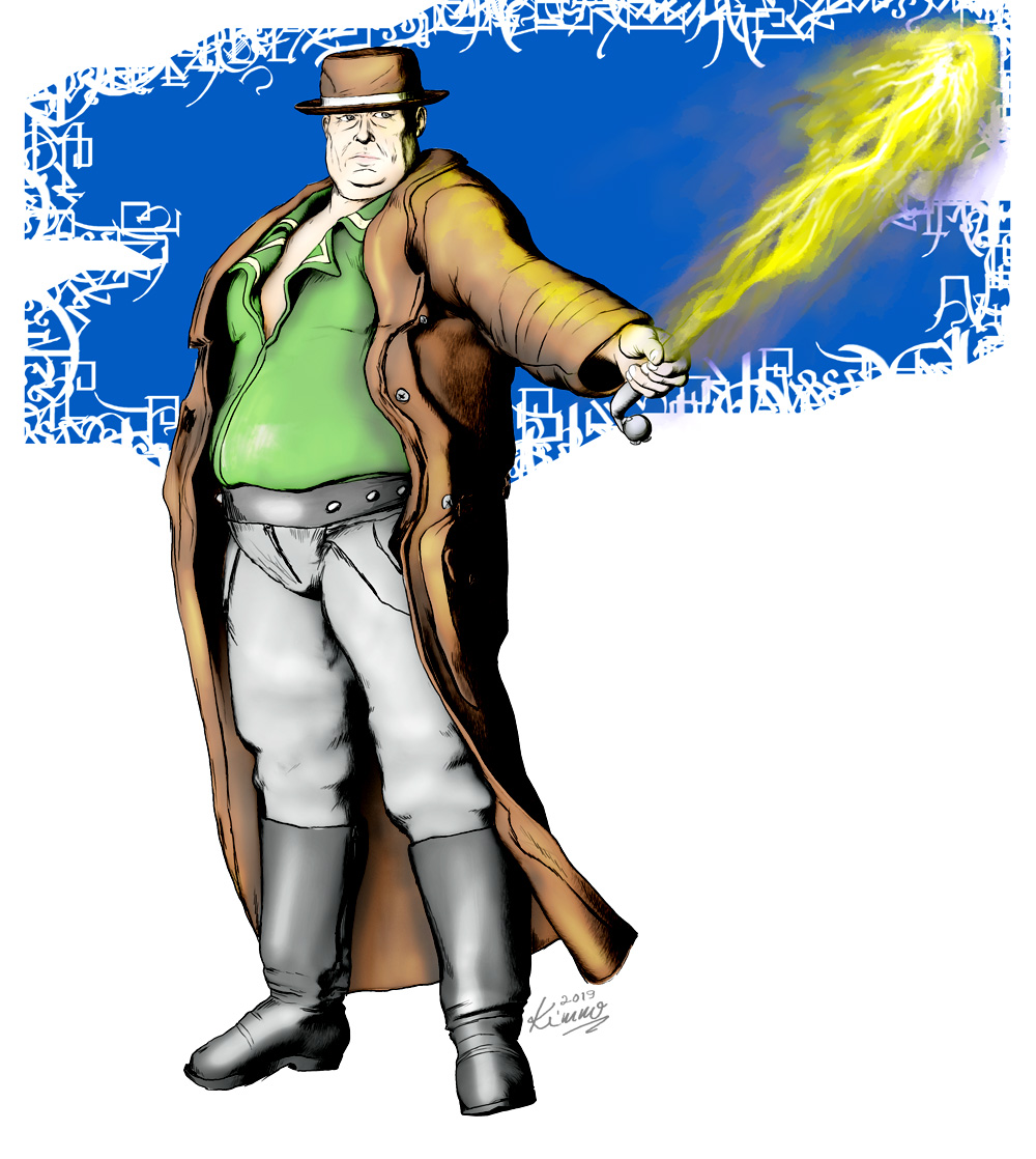 """Mike """"Big Mike"""" Collins; Street Mage."""